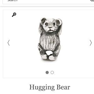 Trollbeads Hugging Bear Authentic